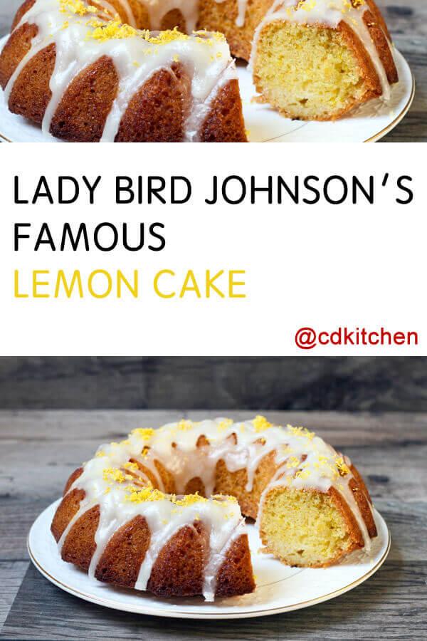 Lady Bird Johnson S Lemon Cake