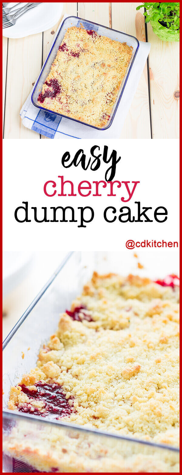 How To Make Cherry Pie Filling Dump Cake