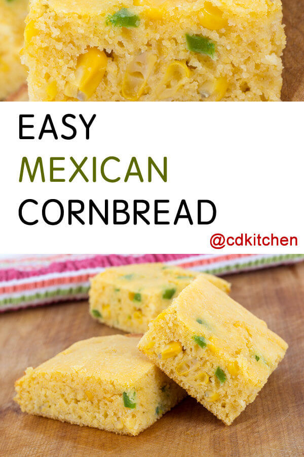 The Soup Kitchen Mexican Cornbread Recipe