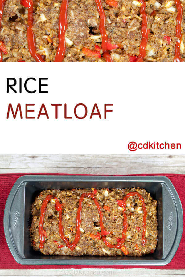 Meatloaf Rice Recipes