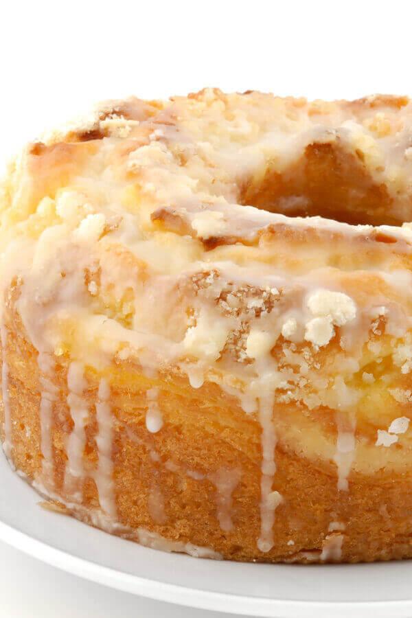Lemon Cream Cheese Pound Cake Recipe Cdkitchen Com