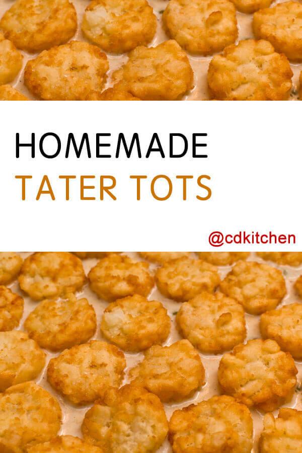 Homemade Tater Tots Recipe | CDKitchen.com