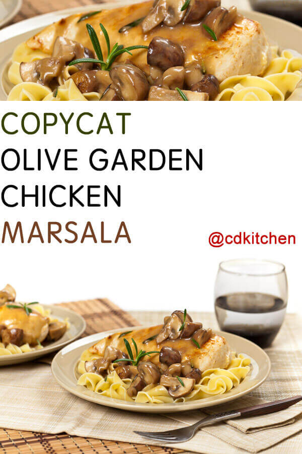 Copycat olive garden chicken marsala recipe for Olive garden stuffed chicken marsala recipe