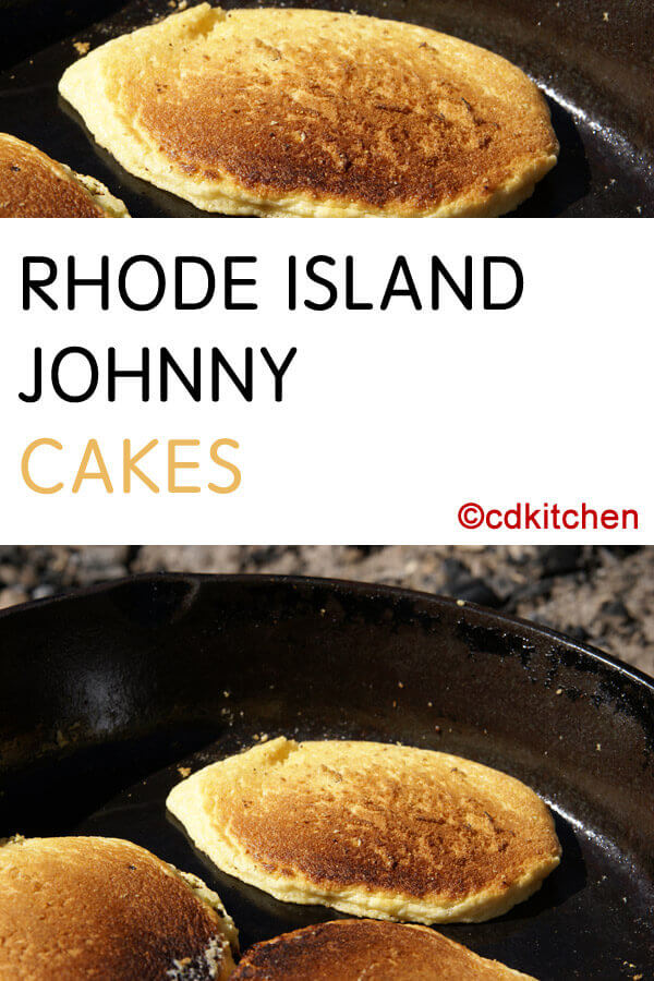 Johnny Cakes Rhode Island Recipe