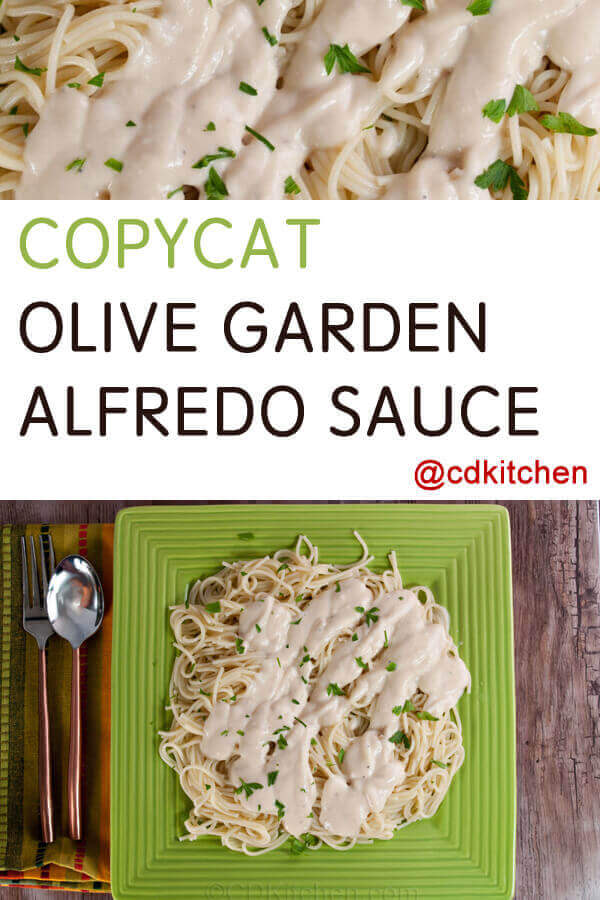 Recipe: Olive Garden Alfredo Sauce Recipe [23]
