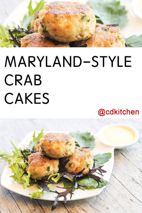 Recipe For Crab Cakes Please