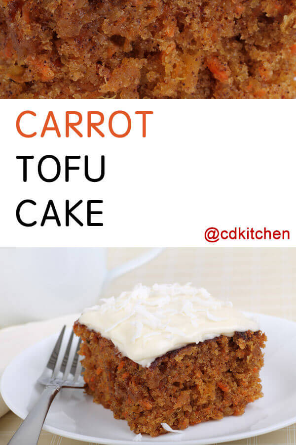 Cooked Carrots And Applesauce Cake