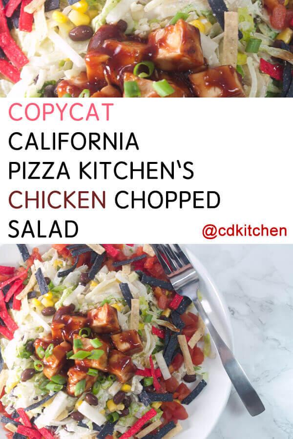 Superb How To Make California Pizza Kitchens Chicken Chopped Salad Interior Design Ideas Skatsoteloinfo