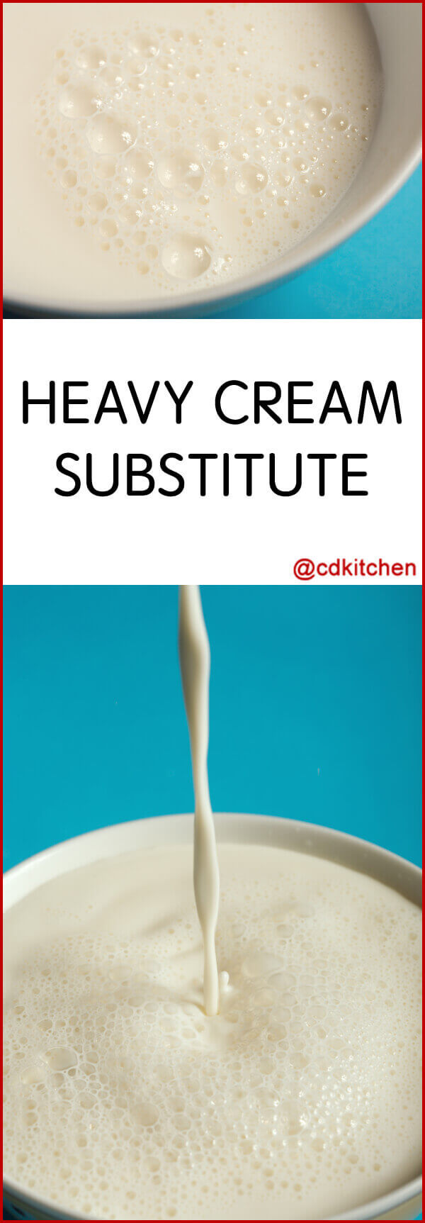 Non Dairy Substitute For Heavy Cream In Soup