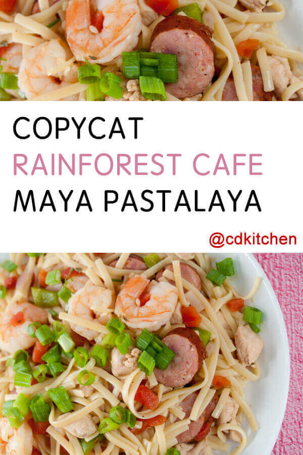 Recipe For Pastalaya From The Rainforest Cafe