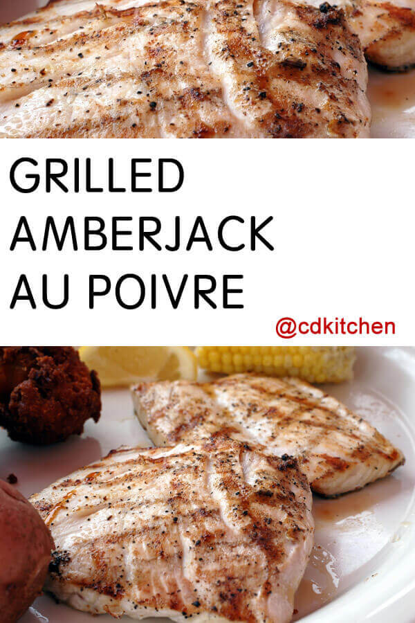 Grilled amberjack recipes images for Jack fish recipe
