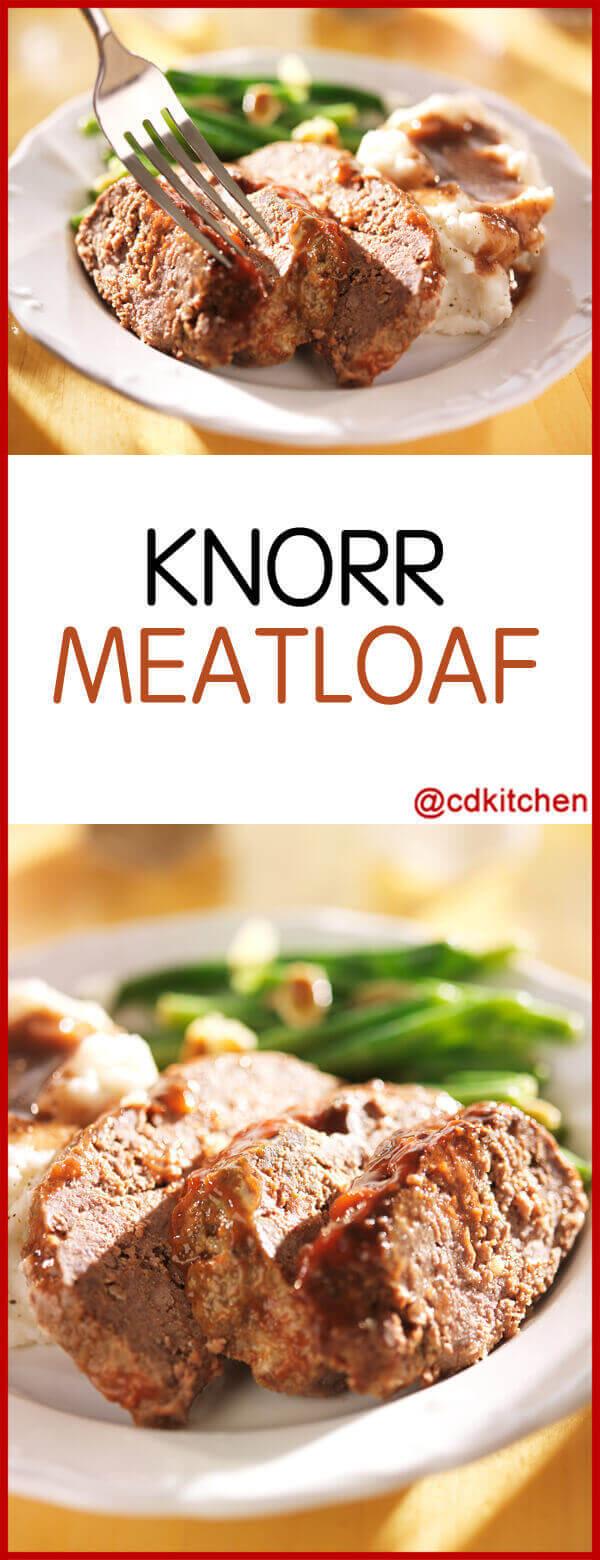 Knorr Meatloaf Recipe Cdkitchen Com