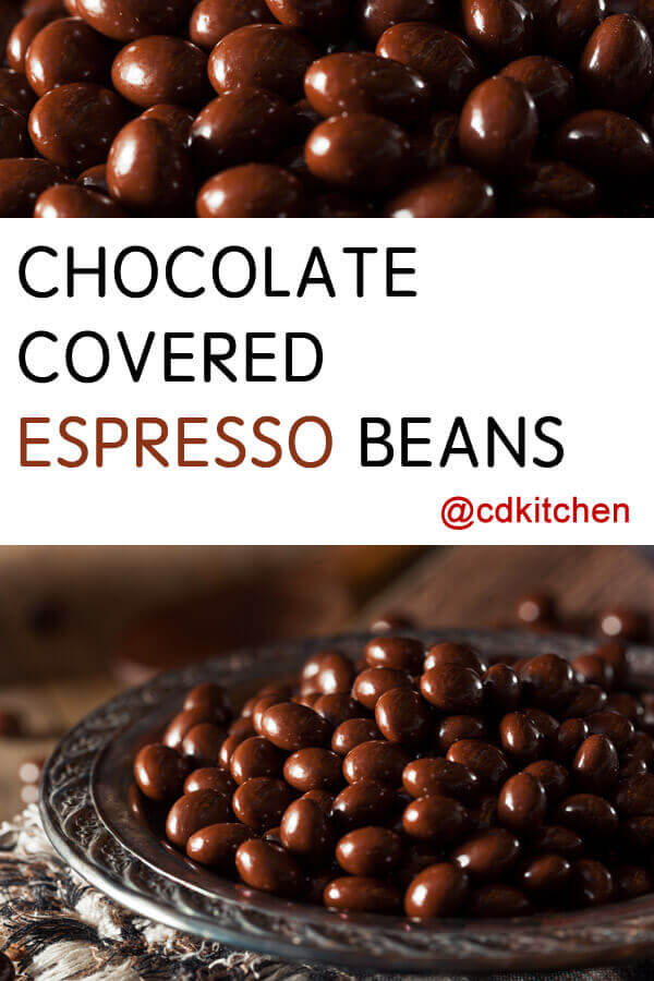 Chocolate Covered Espresso Beans Recipe Cdkitchen Com