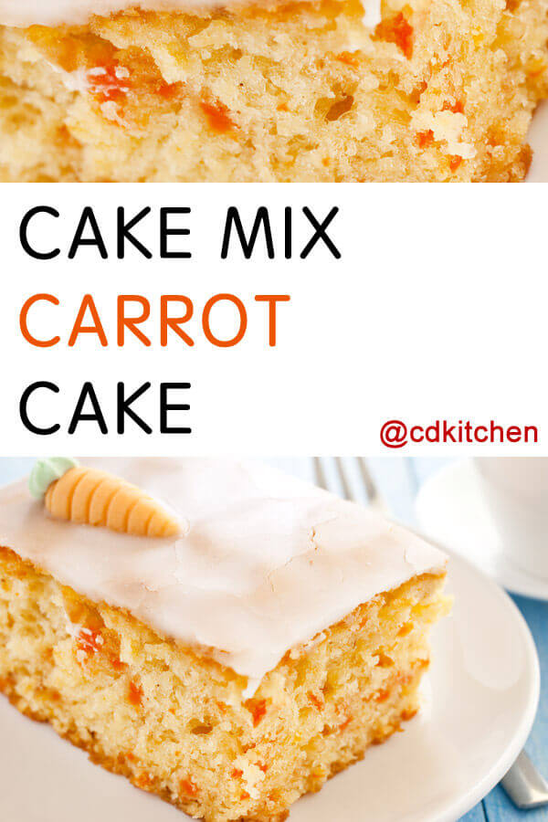 Cake Mix Carrot Cake With Pineapple