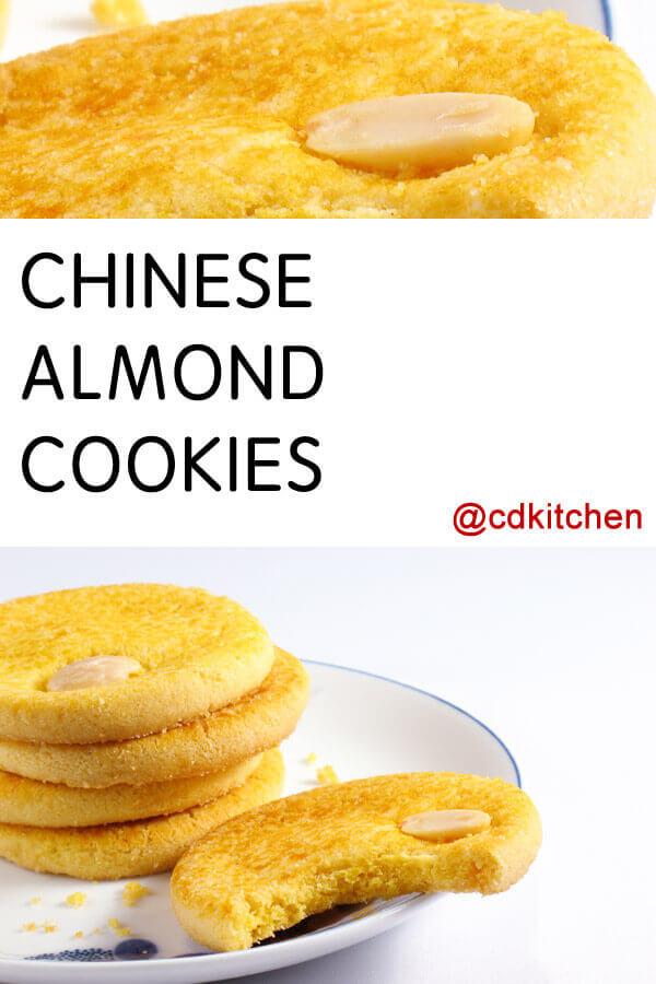 Chinese Almond Cookies Recipe | CDKitchen.com