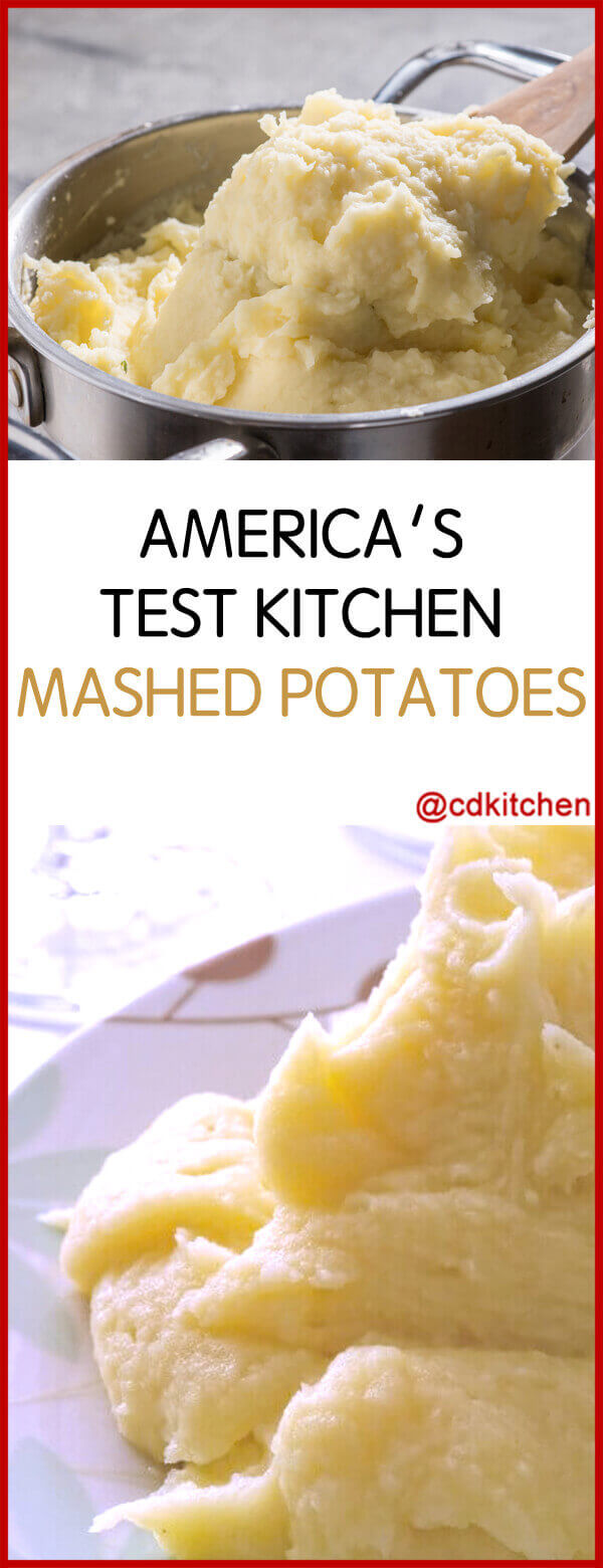 America Test Kitchen Slow Cooker Mashed Potatoes