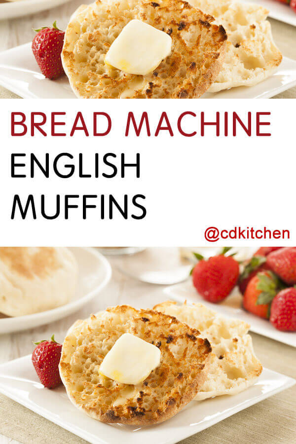 English muffin recipes cdkitchen 3 egg sponge cake forumfinder Image collections