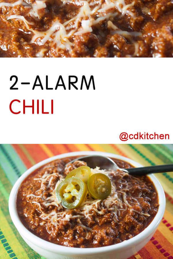 2 Alarm Chili Recipe