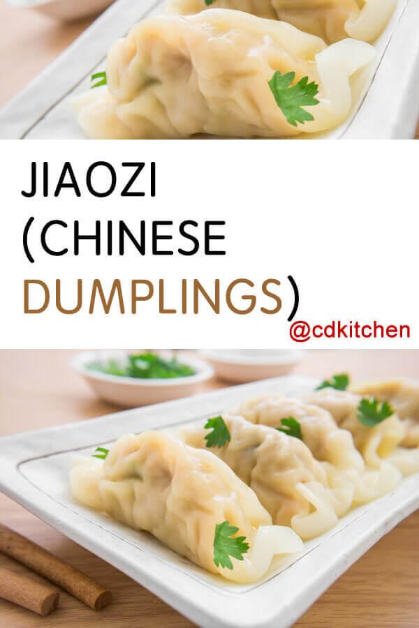 Jiaozi Chinese Dumplings Recipe Cdkitchen Com