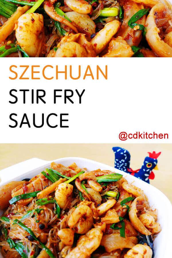 Szechuan stir fry sauce recipe easy