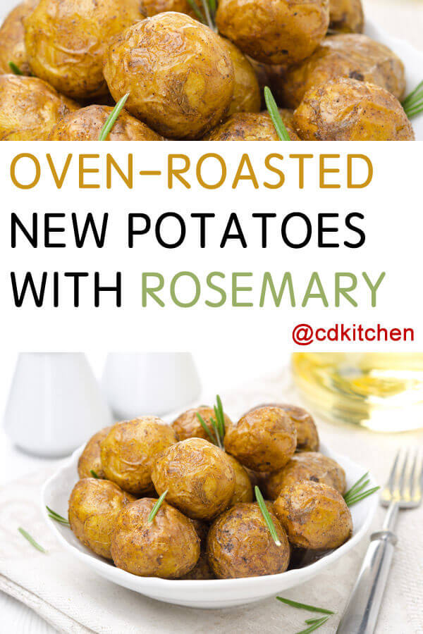 Oven Roasted New Potatoes with Rosemary Recipe | CDKitchen.com