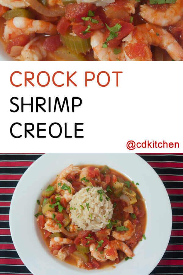 Crock Pot Shrimp Creole Recipe From Cdkitchen Com