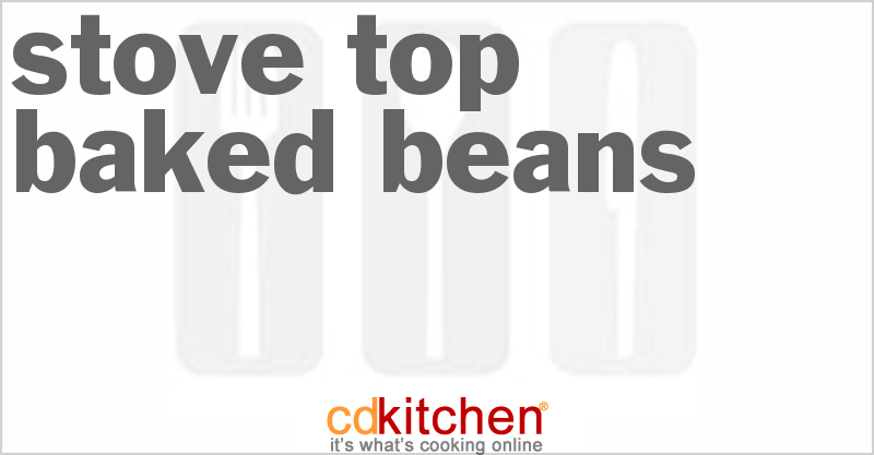 Stove Top Baked Beans Recipe | CDKitchen.com