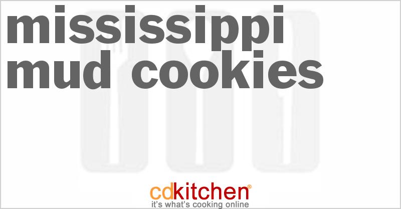 Mississippi Mud Cookies Recipe | CDKitchen.com