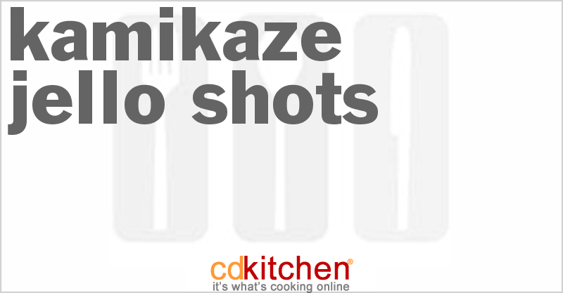 Kamikaze Drink With Sweet And Sour Mix