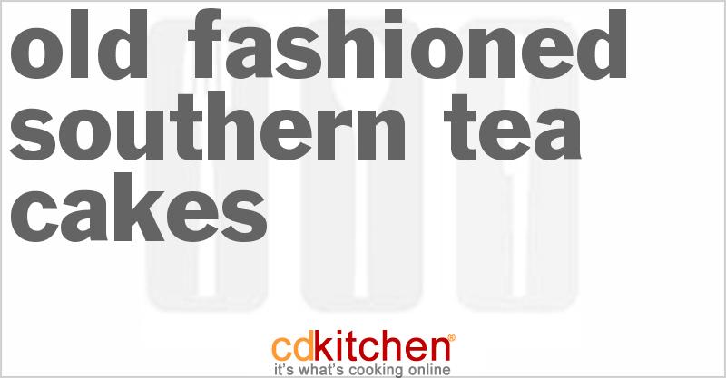 Old Fashioned Southern Tea Cakes Recipe Cdkitchen Com