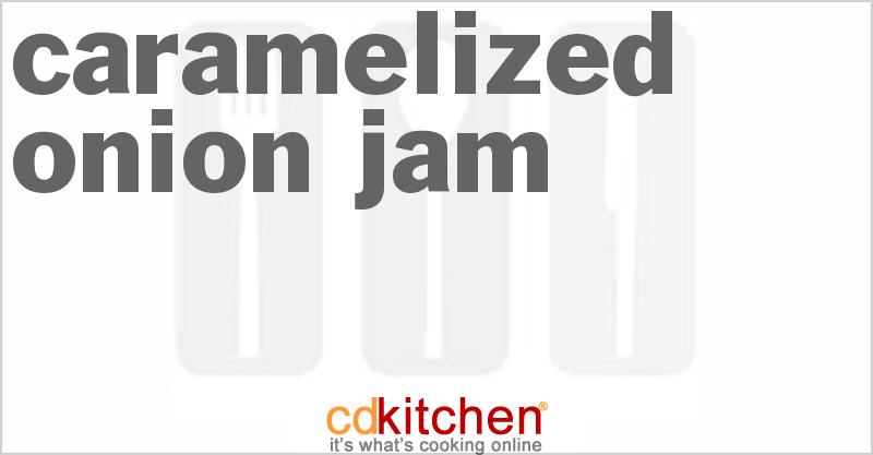 Caramelized Onion Jam Recipe | CDKitchen.com