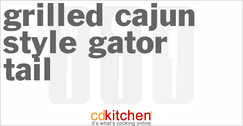 how to cook gator meat