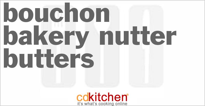 Bouchon Bakery Nutter Butters Recipe | CDKitchen.com
