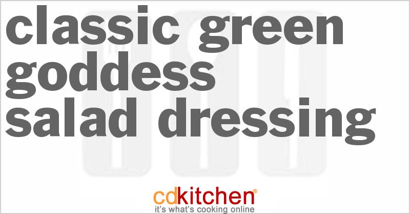 Classic Green Goddess Dressing - CDKitchen.com
